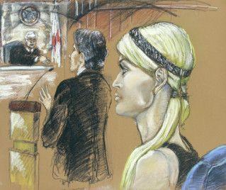 Paris Hilton na sali sądowej machała sędziemu!