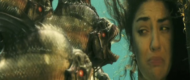 Piranha 3D: jedna z najbardziej drastycznych scen w historii