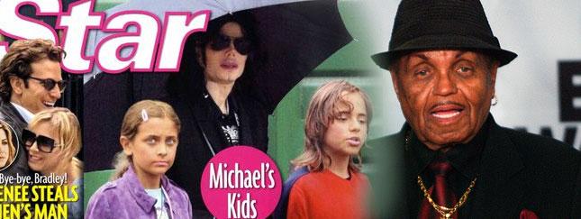 Joe Jackson przepowiada karierę dzieciom Jacko