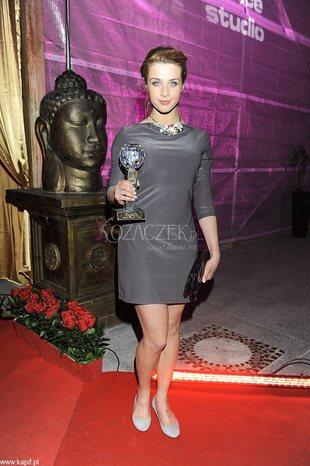 Julia Kamińska w roli modelki