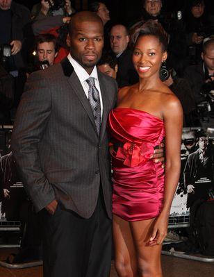 50 Cent i Jamelia razem na premierze (FOTO)