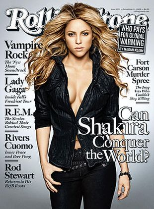 Shakira w magazynie Rolling Stone (FOTO)