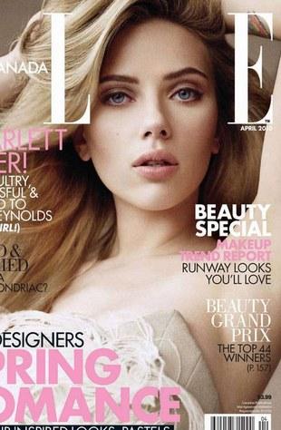 Scarlett Johansson dla kanadyjskiego Elle (FOTO)