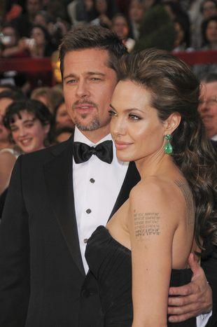 Angelina Jolie uderzyła Pitta?