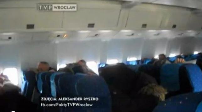 Film pasażera Boeinga 767 – ewakuacja [VIDEO]