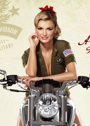 Marisa Miller reklamuje Harleya-Davidsona (FOTO)