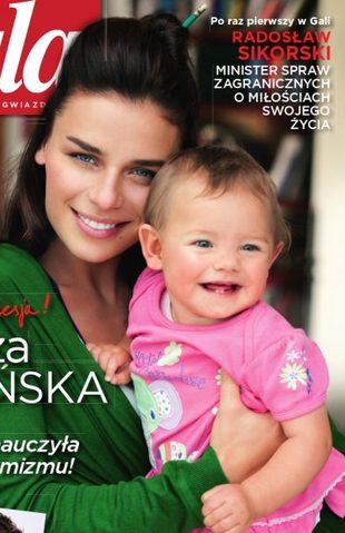 Urbańska z córką Kaliną w Gali (FOTO)