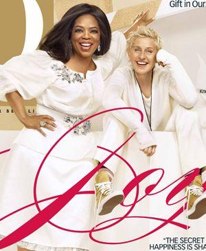 Ellen i Oprah razem na okładce magazynu O (FOTO)