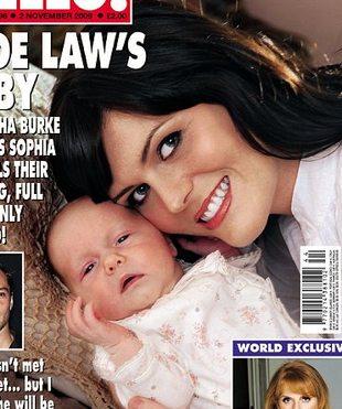 Sophia Lee, córka Jude'a Law, na okładce magazynu Hello!