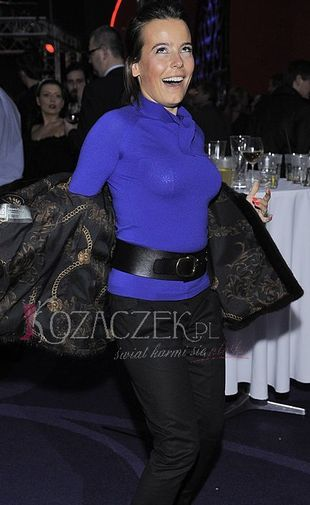 Anna Mucha rozdaje spodnie