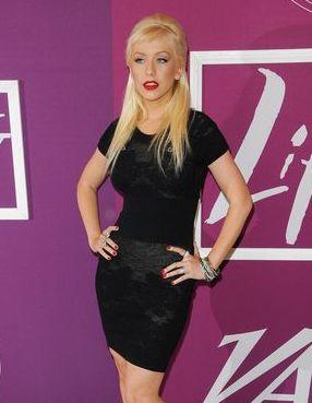 Christina Aguilera i jej nowa fryzura