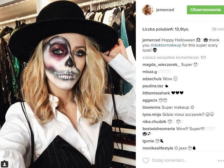 Polskie gwiazdy na Halloween 2016