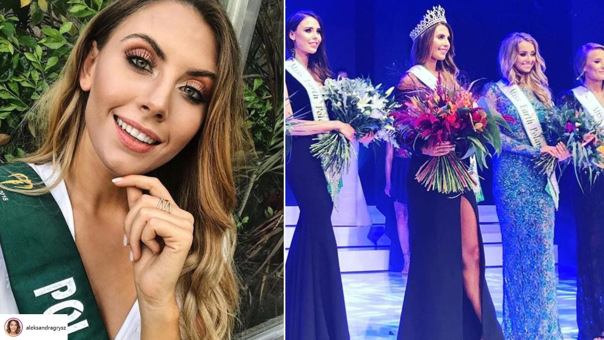 Miss Earth 2018 – Aleksandra Grysz zachwyci przepiękną kreacją (ZDJĘCIA)
