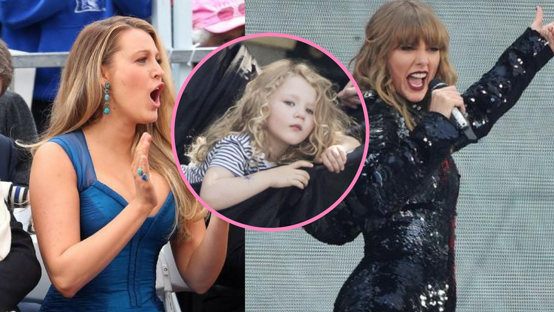 Szokująca reakcja Blake, gdy usłyszała głos córki na koncercie Taylor Swift!