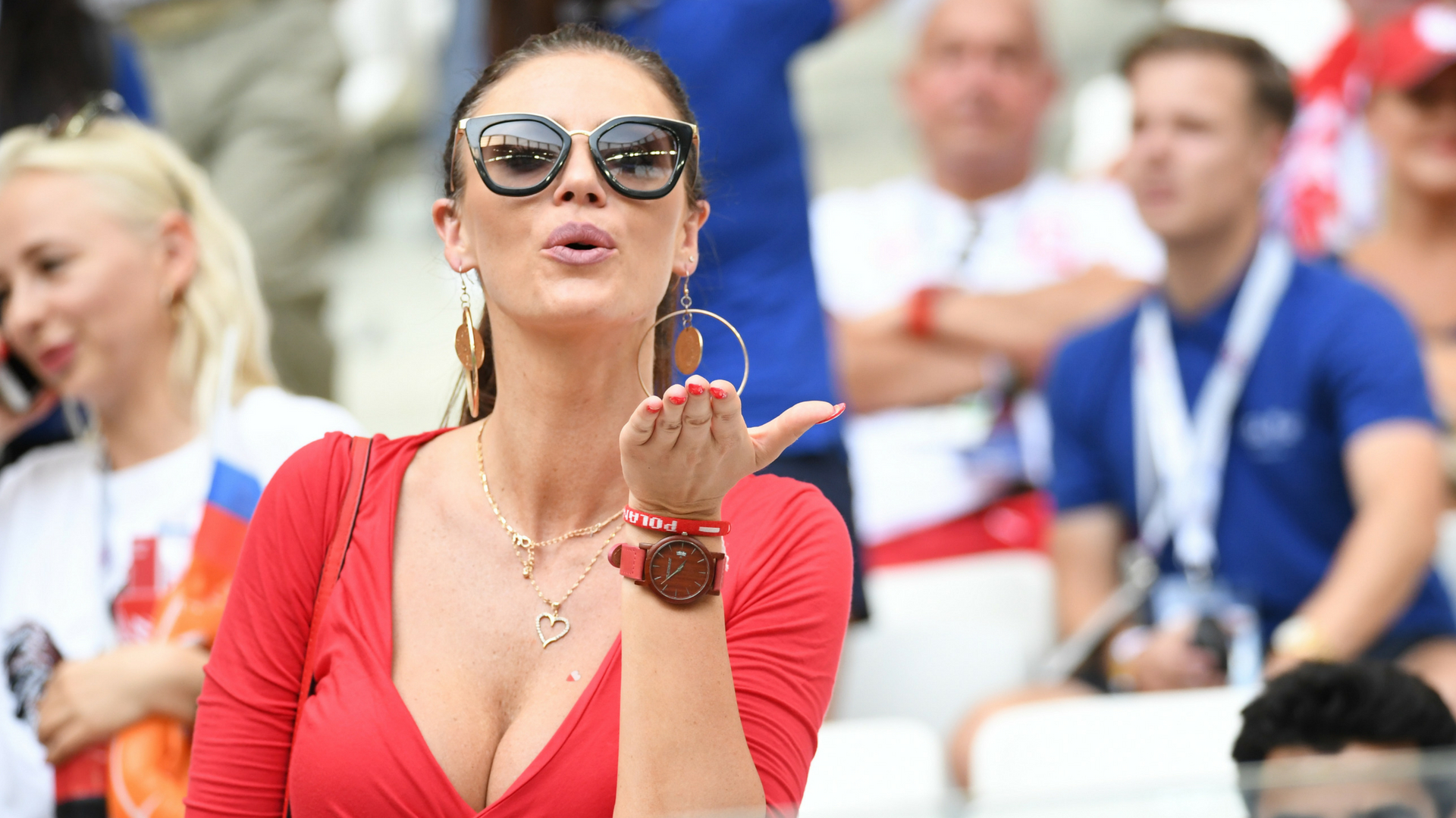 Miss Mundialu nie było na trybunach! Inne piękne Polki kibicują w Wołgogradzie