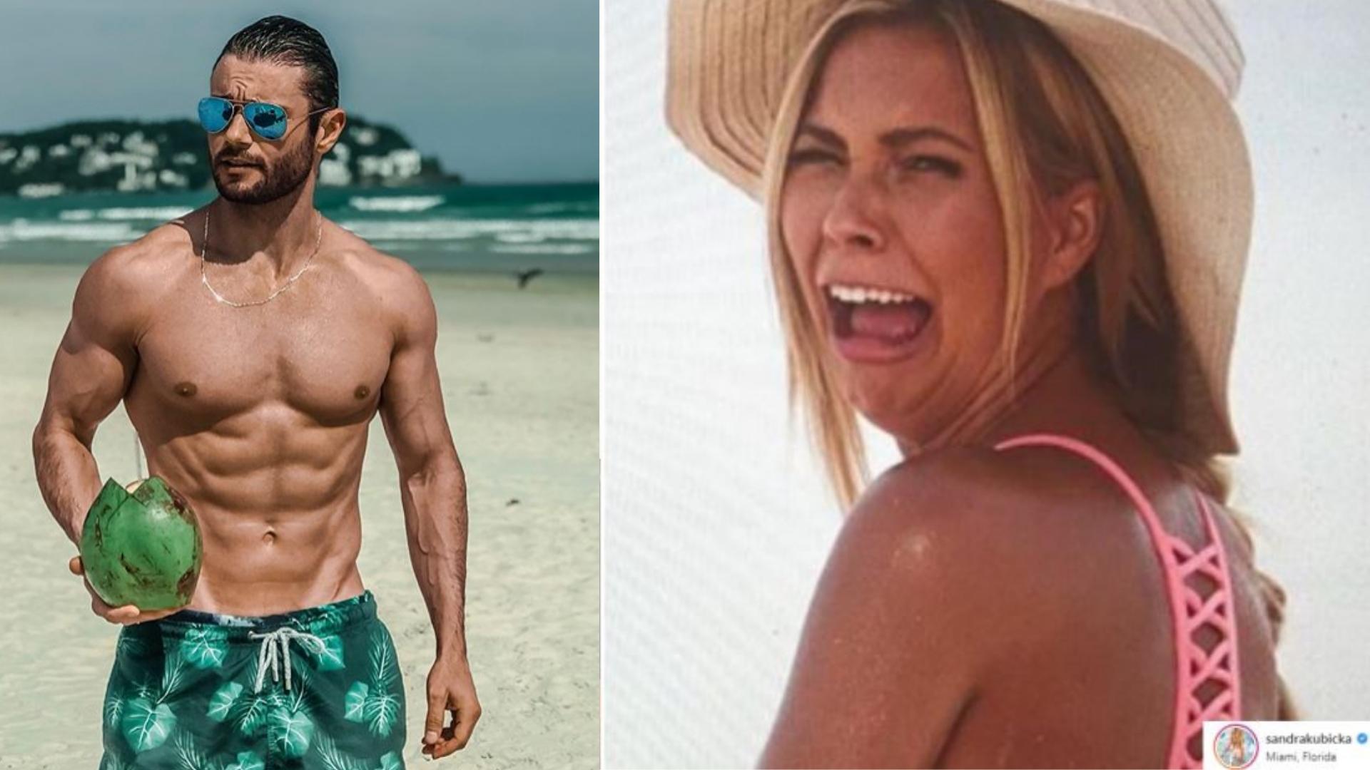 Koniec związku Sandry z przystojnym Brazylijczykiem! Modelka podała powód