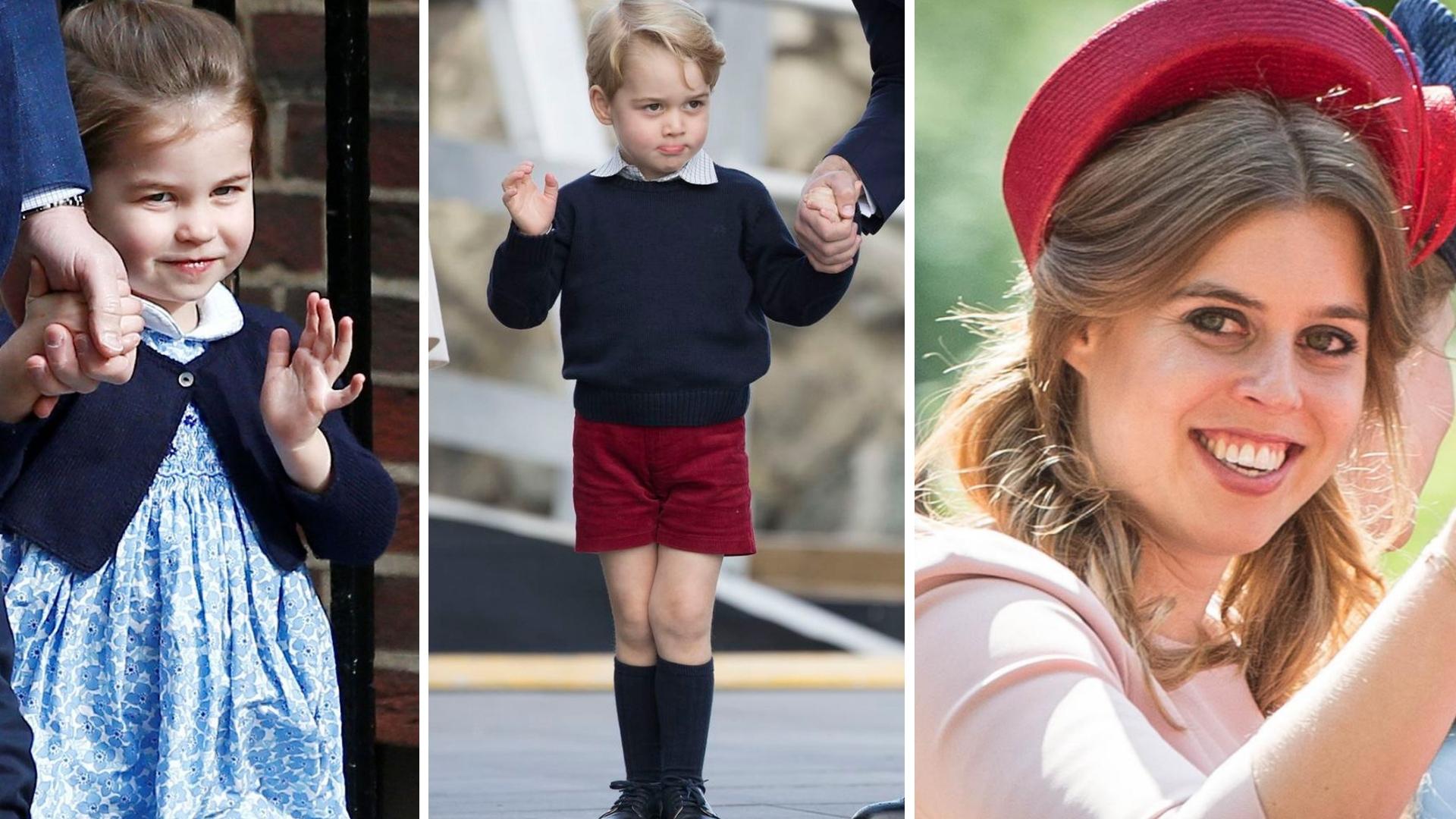 Na ŚLUBIE księżniczki Eugenii dzieci Kate Middleton będą miały TRUDNE zadanie