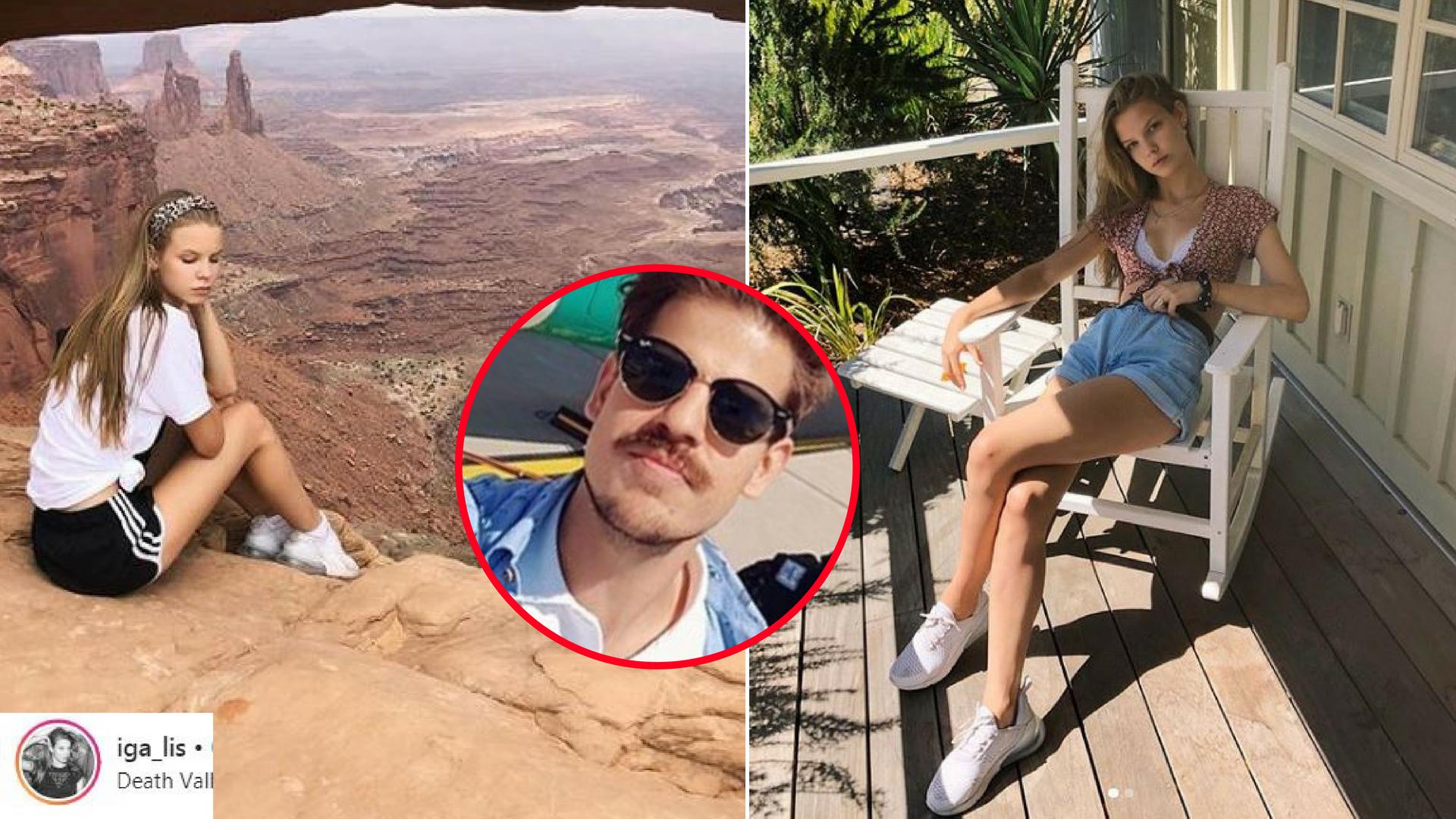 Iga Lis na wakacjach w USA! OTO dowód, że jest z nią Taco Hemingway