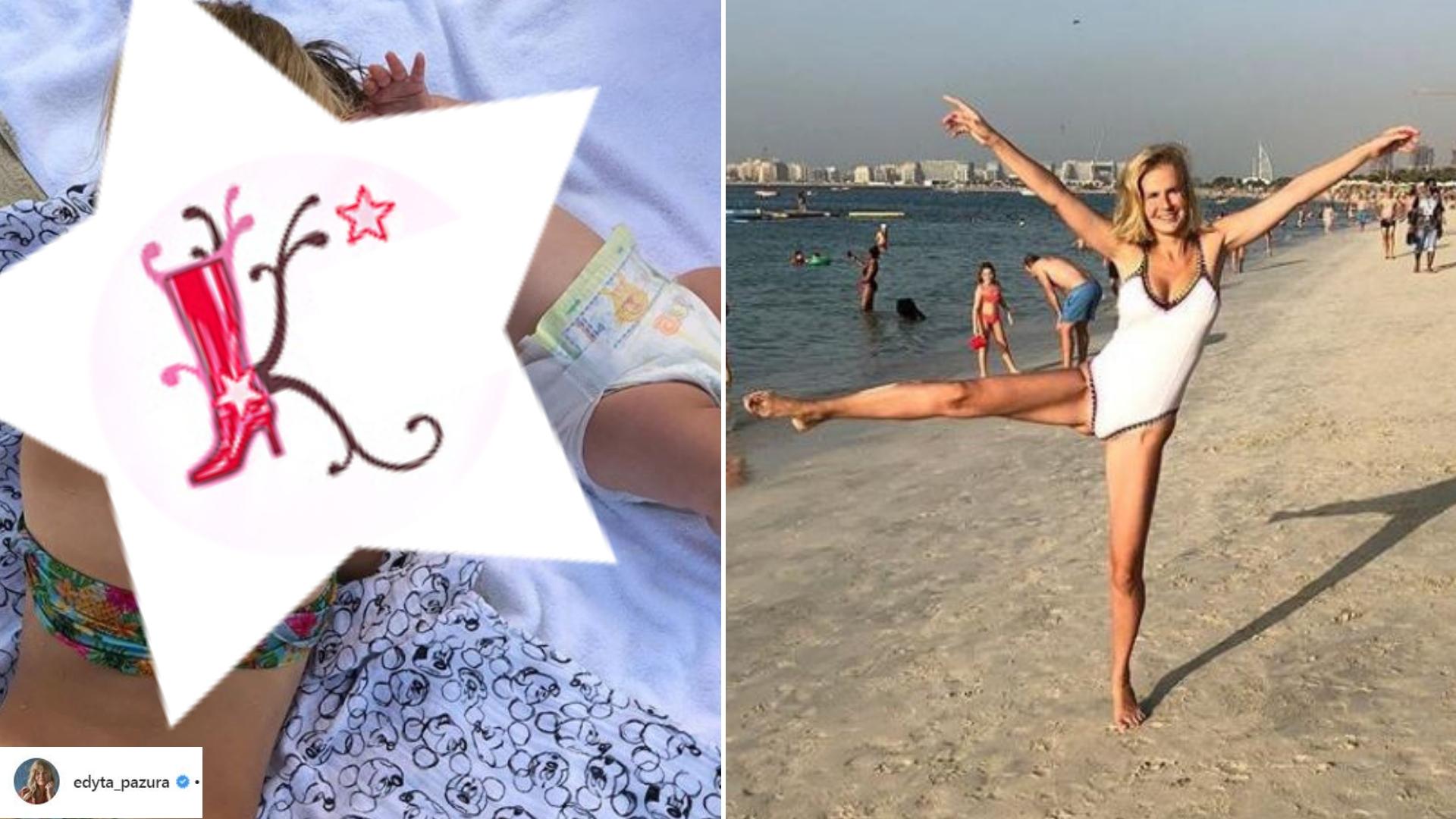 Edyta Pazura pokazała PRZEUROCZE zdjęcie swoich córek z wakacji! Do schrupania