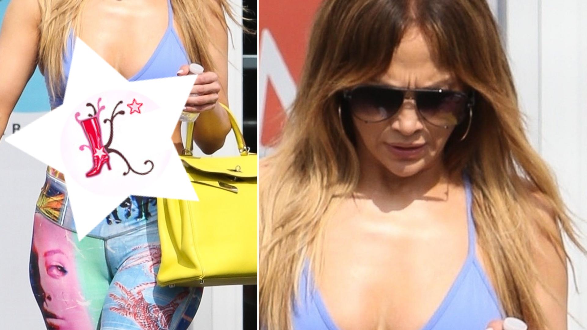 WOW! Tylko spójrzcie na brzuszek Jennifer Lopez (ZDJĘCIA)