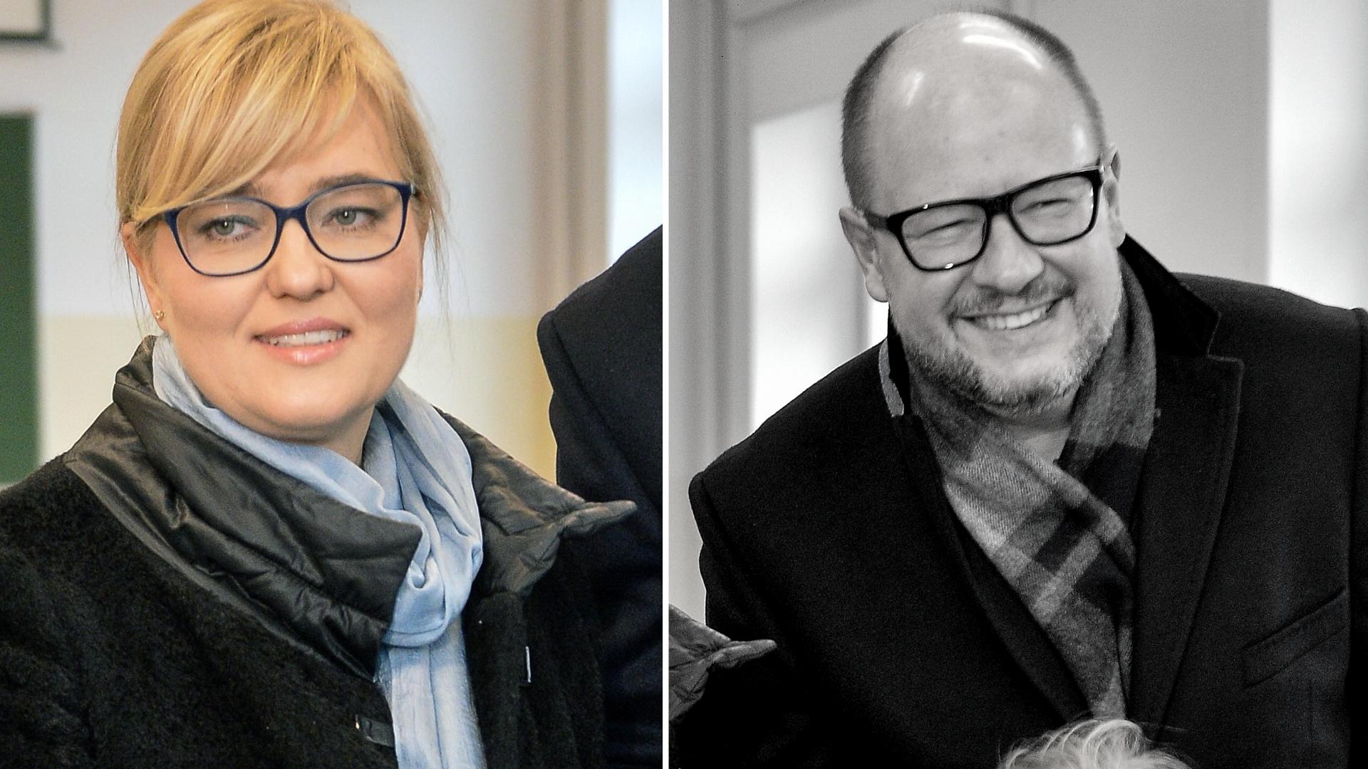 Pogrążona w żałobie – Magdalena Adamowicz nie zdążyła pożegnać się z mężem