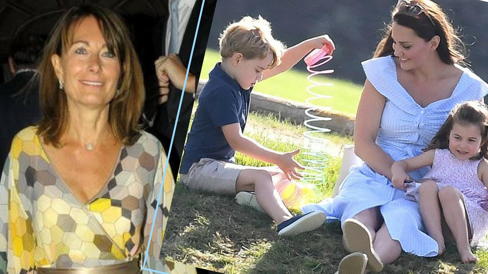 OTO jak Carole Middleton rozpieszcza księcia George'a i księżniczkę Charlotte