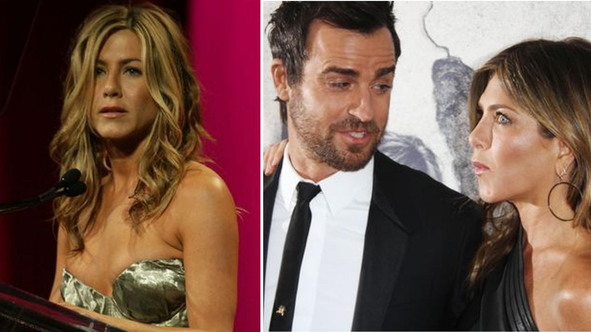 Potajemne spotkania Jennifer Aniston i Justin Theroux stają się bardzo INTYMNE