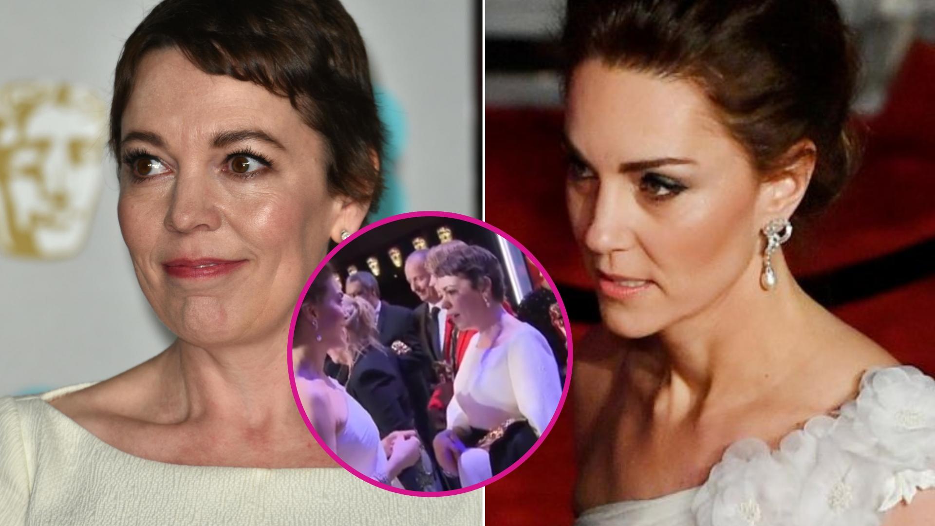 Niezręczna sytuacja z udziałem Kate i aktorki wcielającej się w rolę Elżbiety II