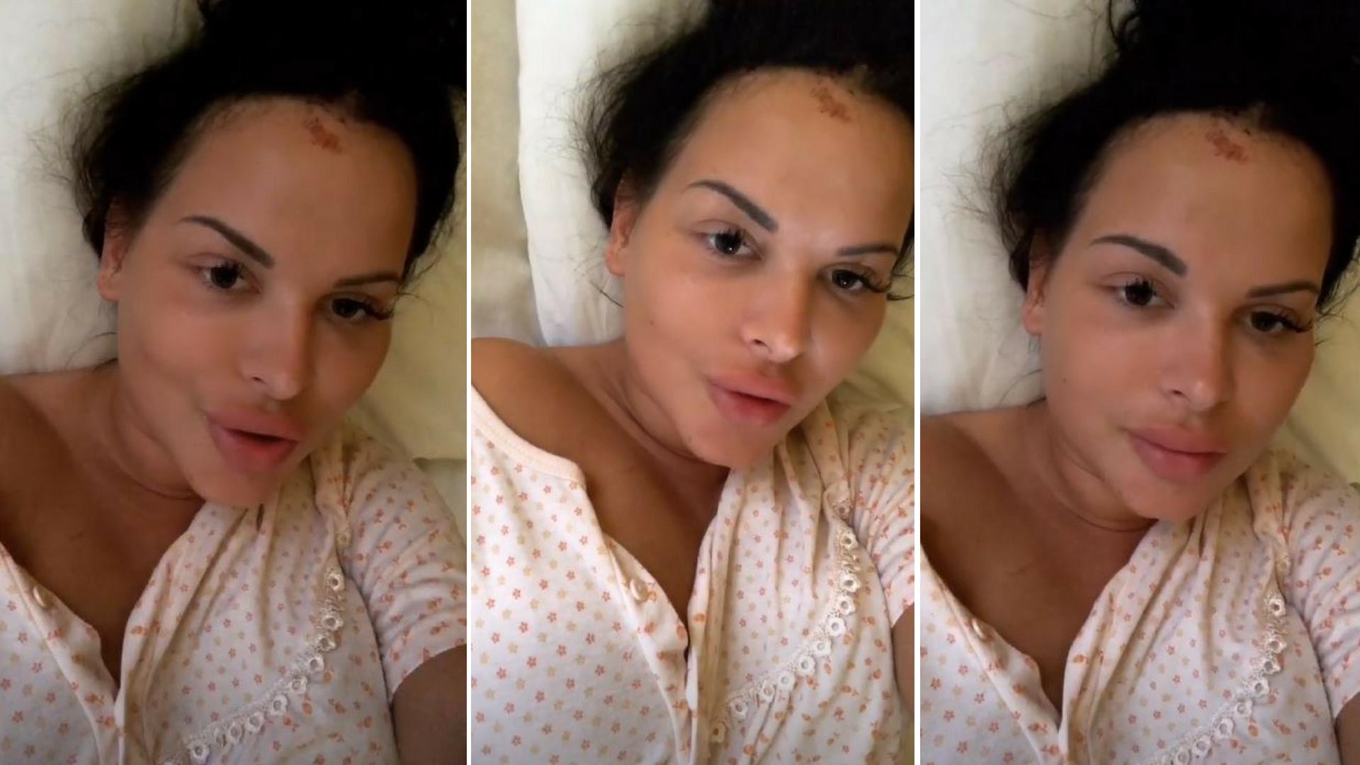 Esmeralda prosto ze szpitala mówi o swoich licznych obrażeniach!
