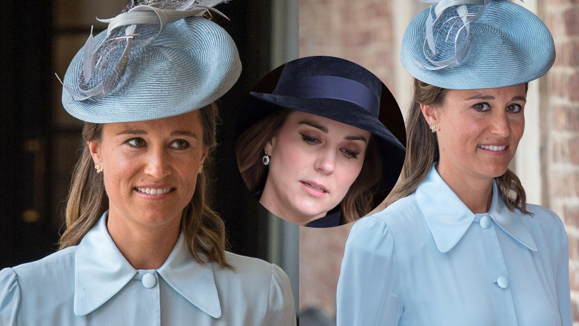 Kate jest wściekła na Pippę! Wszystko przez stylizację na chrzcinach Louisa!