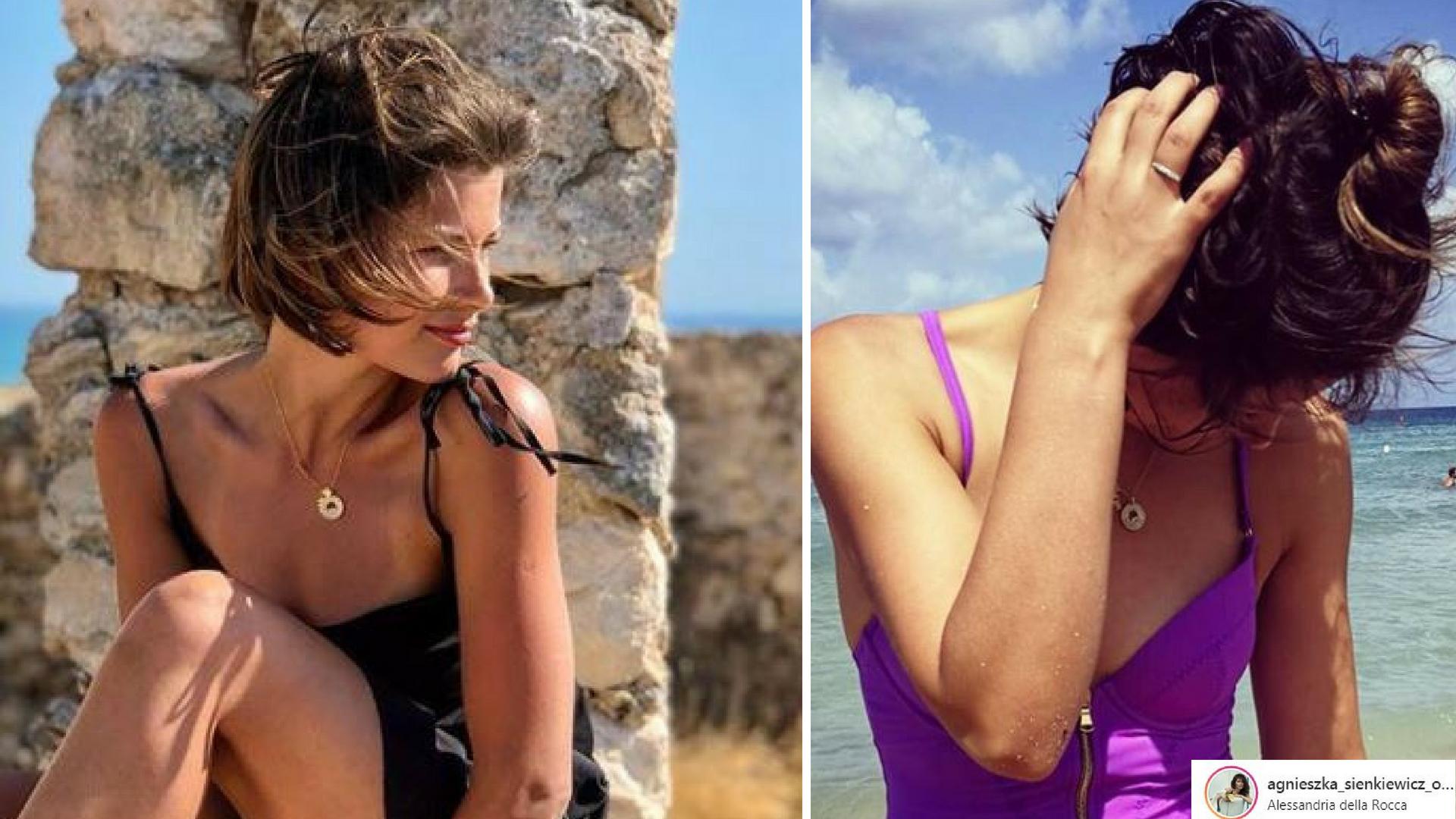 Agnieszka Sienkiewicz pozuje w skąpym BIKINI na wakacjach we Włoszech