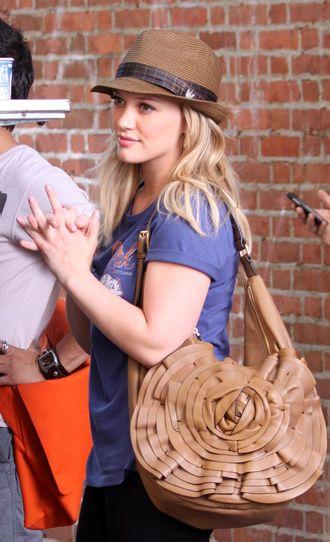 Hilary Duff na planie Plotkary (FOTO)