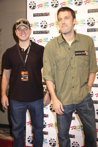 O czym rozmawiają Ben Affleck i Matt Damon?