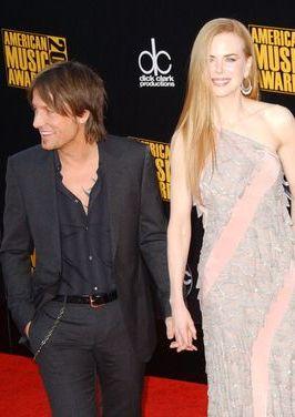 Nicole Kidman z mężem na gali American Music Awards (FOTO)