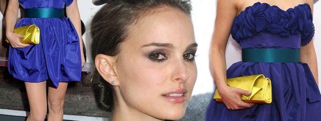 Natalie Portman w niebieskiej mini (FOTO)