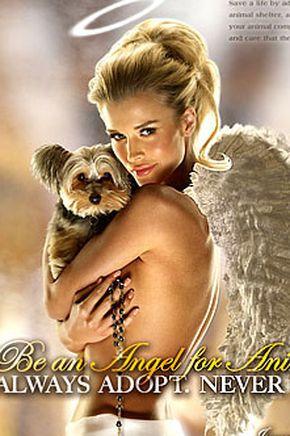 Joanna Krupa dla PETA (FOTO)