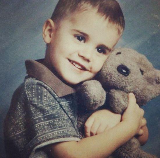 Justin Bieber w dzieciństwie