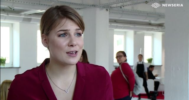 Marta Wierzbicka wygl�da, jakby �ebra�a o rol�