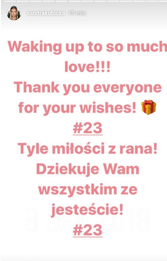 Najseksowniejsza polska modelka kończy dzisiaj 23 lata!