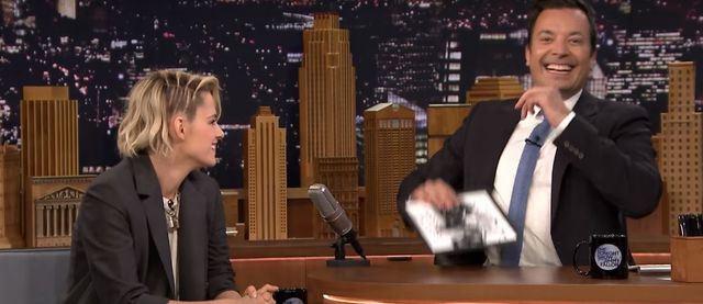 Kristen Stewart pokazuje, że ma poczcie humoru (VIDEO)