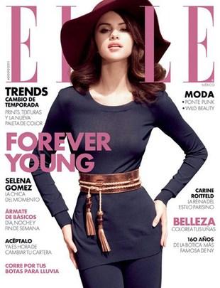 Stara-maleńka Selena Gomez w Elle (FOTO)