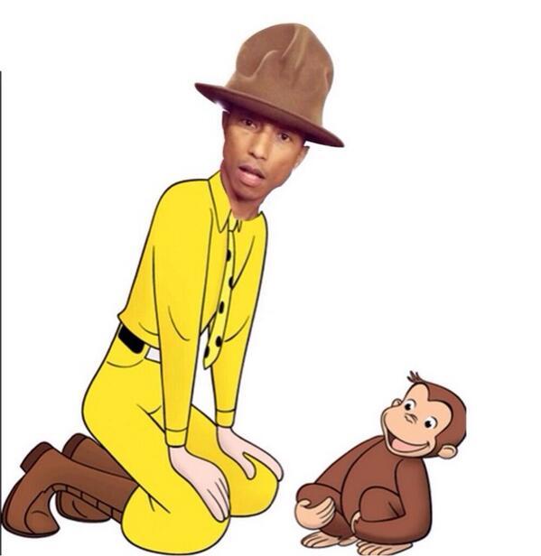 Kapelusz Pharrella Williamsa z Grammy stał się hitem (FOTO)