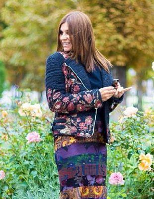 Carine Roitfeld pozuje z Nori West (FOTO)