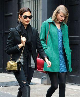 Taylor Swift spotyka się z kolejną modelką (FOTO)