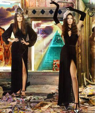 Kiczowata kartka Kardashianów kosztowała 250 tysięcy $