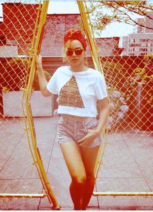 Beyonce w koszulce z TopShop (FOTO)