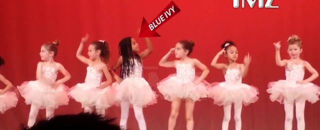 Blue Ivy jako baletnica! Internauci zachwyceni ruchami dziewczynki