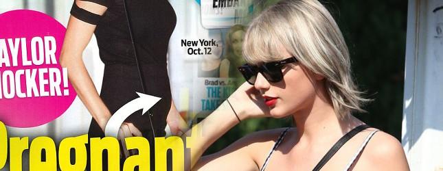 Kto jest ojcem dziecka Taylor Swift? Brzuszek jest już widoczny!