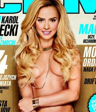 Monika Ordowska na okładce nowego CKM-u (FOTO)
