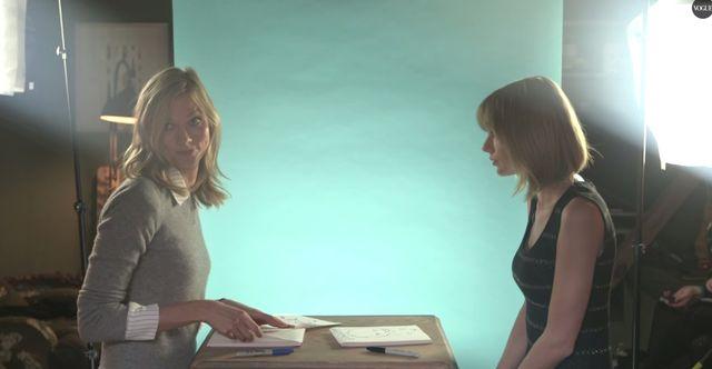 Kloss i  Swift niczym siostry na okładce Vogue'a